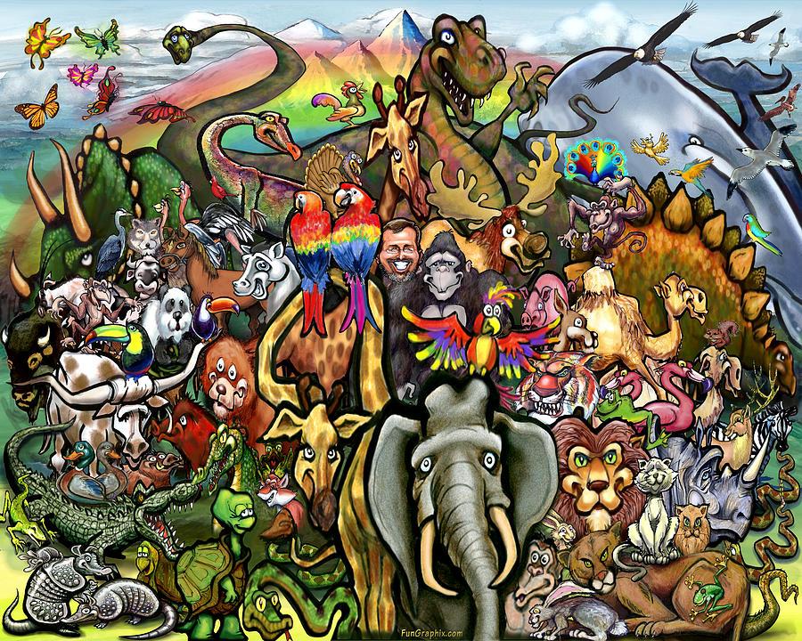 Creatures Beasts And Animals Digital Art