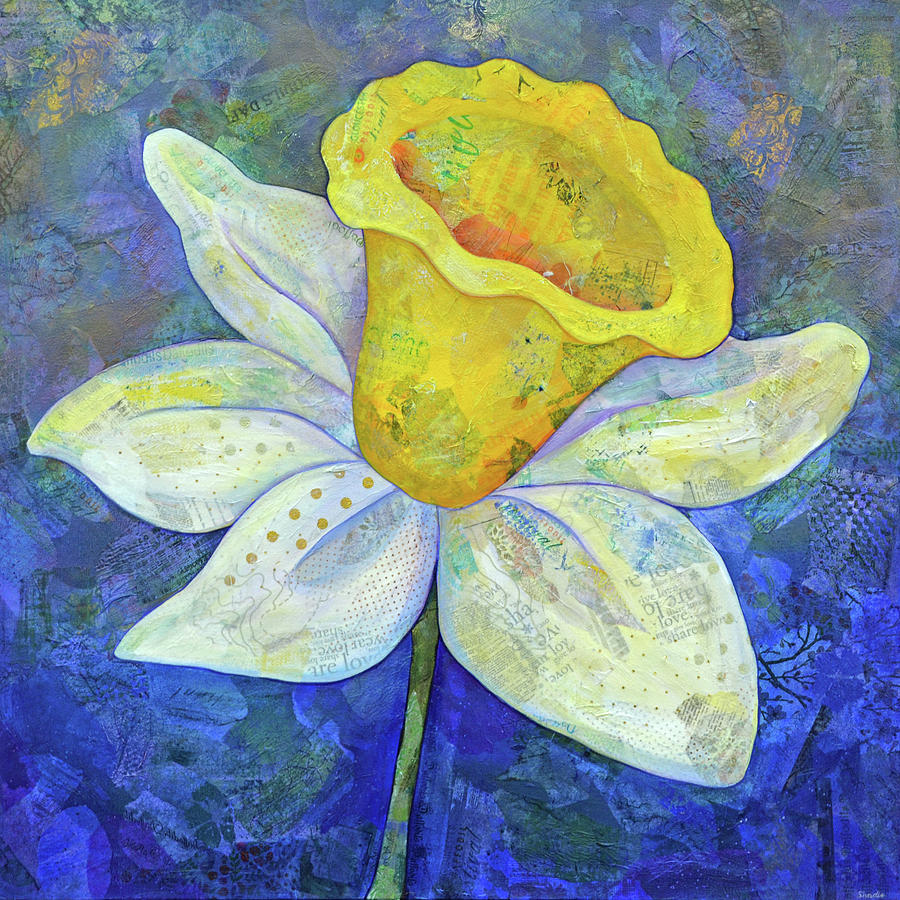Daffodil Festival II Painting
