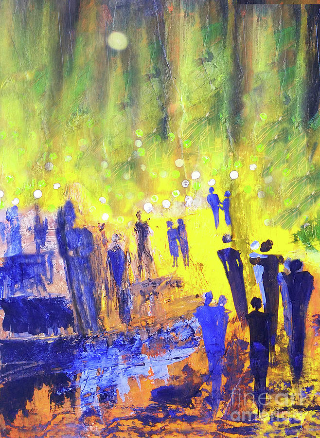 Dancing In The Moonlight 300 Painting