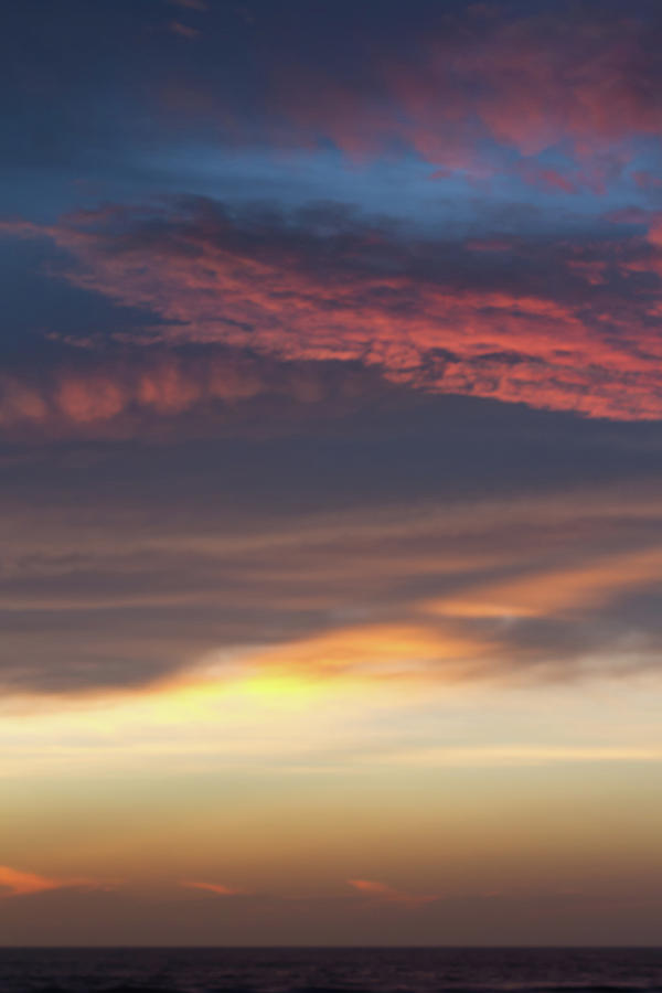 Dawn Sky Colors In Layers Photograph