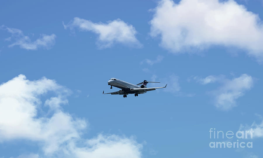 Delta Aviation Flying Photograph