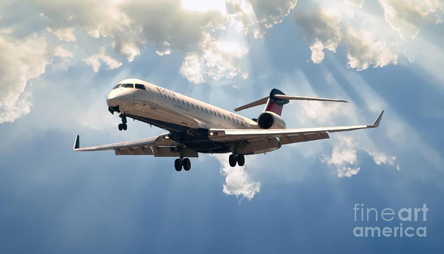 Delta Landing Chs Photograph