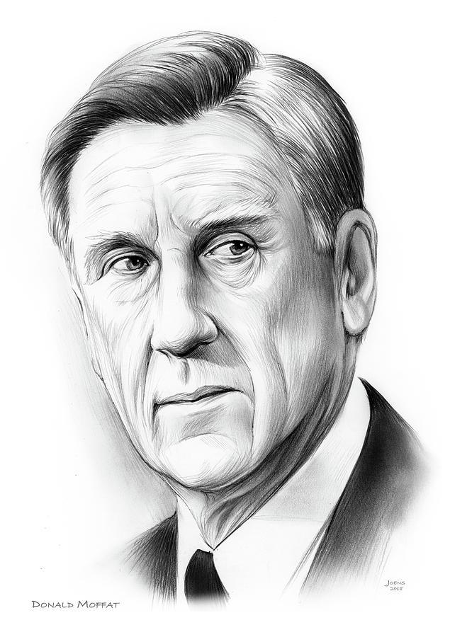 Donald Moffat Drawing