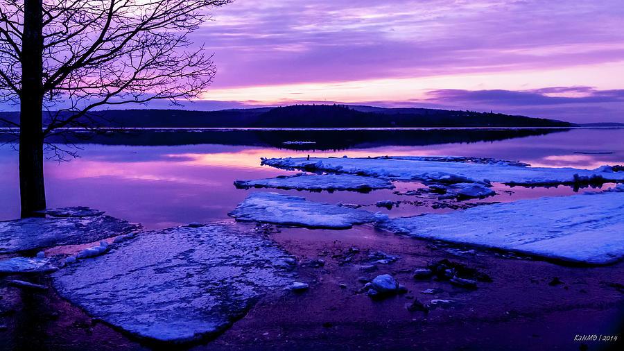 Early Spring Sunrise In New Brunswick #01 Digital Art