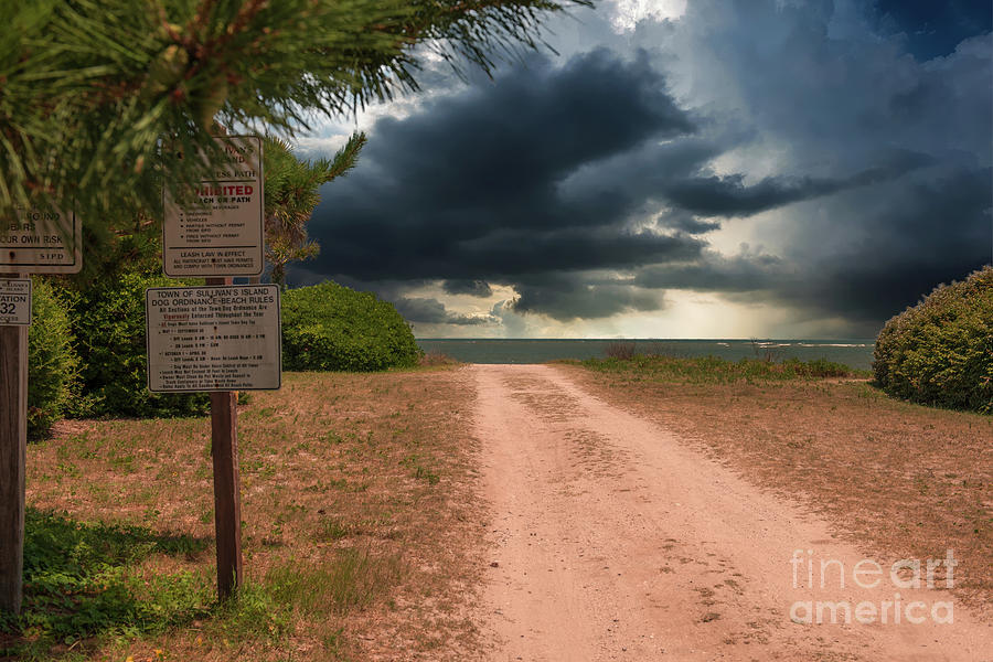 End Of The Road - Isle Of Palms Photograph