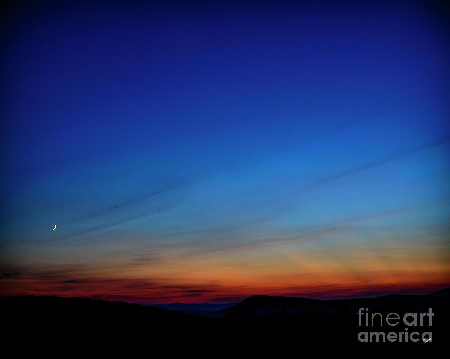 Evening Sky Photograph