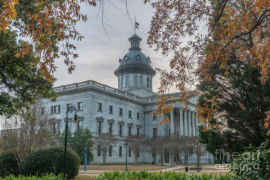 Fall Colors - State Capitol Photograph