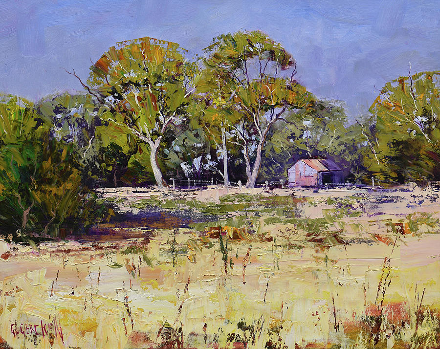 Farm Sheds Whittlesea Painting