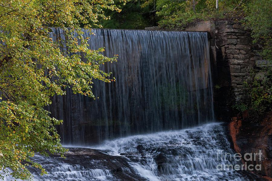 Flat Rock Water Fall Photograph