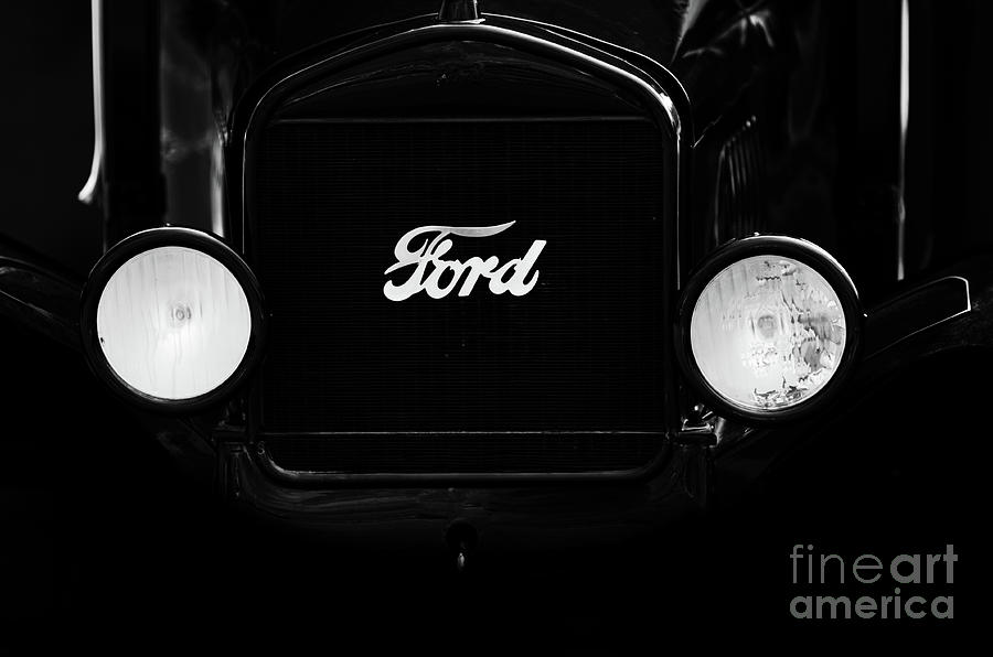 Ford Model T Lights Photograph