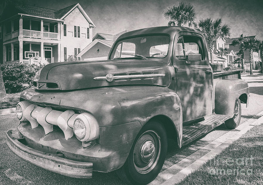 Ford Work Truck Photograph