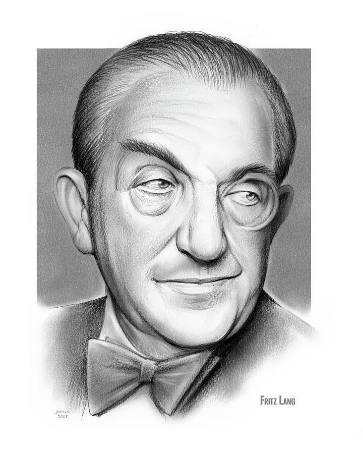 Fritz Lang Drawing