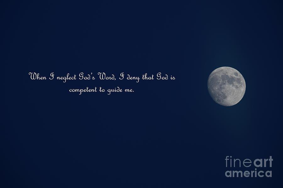 Full Moon - Gods Word Photograph
