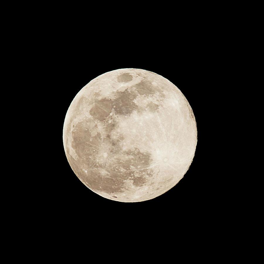 Full Moon Over Minoa Photograph