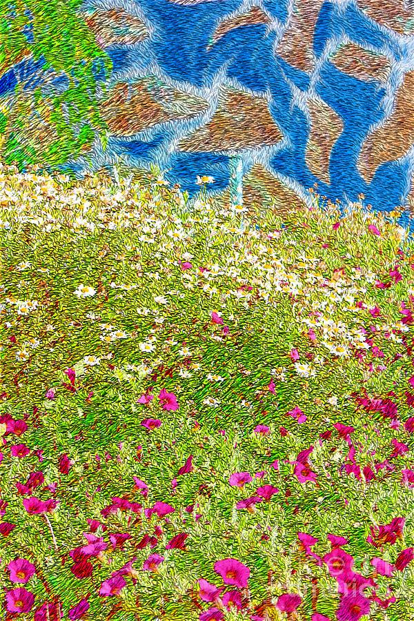 Garden Wall Photograph