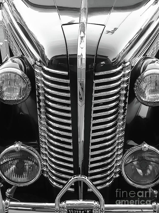 Genes 80 Years Old Buick Photograph