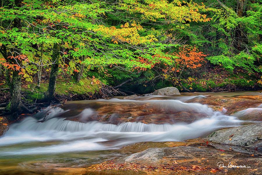 Gentle Pemigewasset Cascade 2485 Photograph