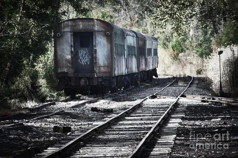 Ghost Train Photograph