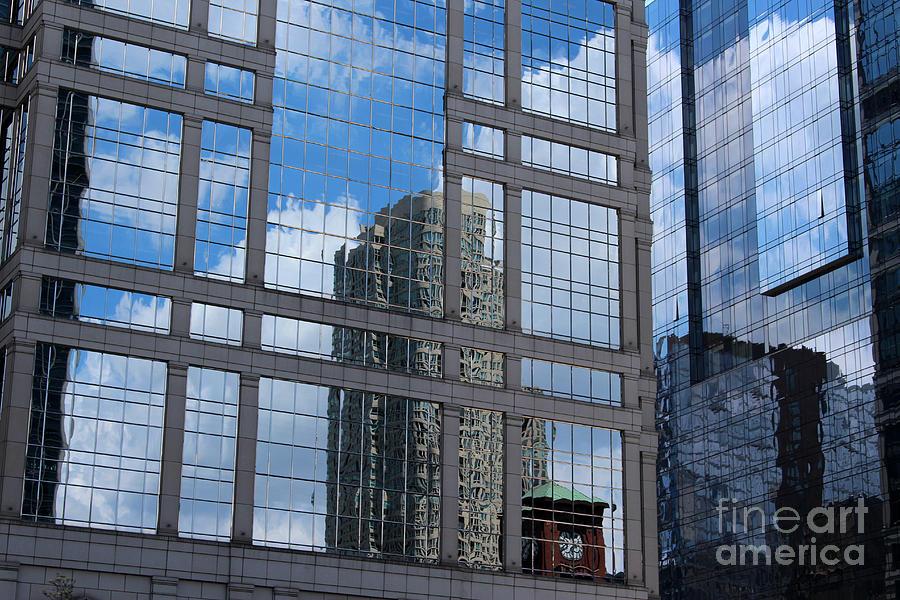 Glass Panels Photograph