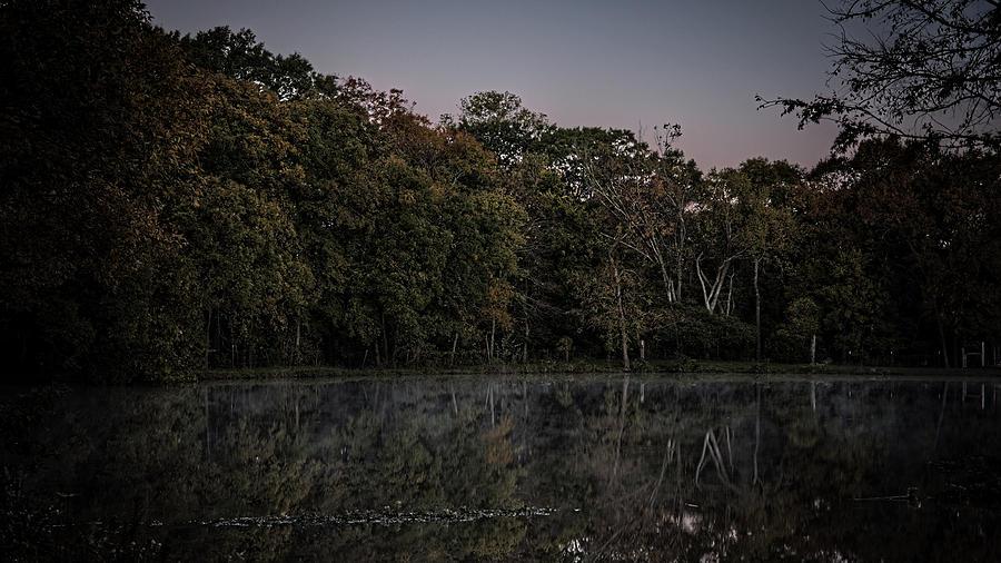 Glassy Morning Pond 20181102 Photograph