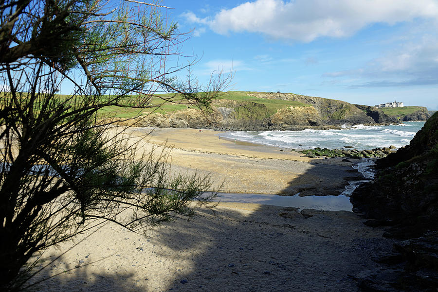 Gunwalloe Church Cove From The Shadows Photograph