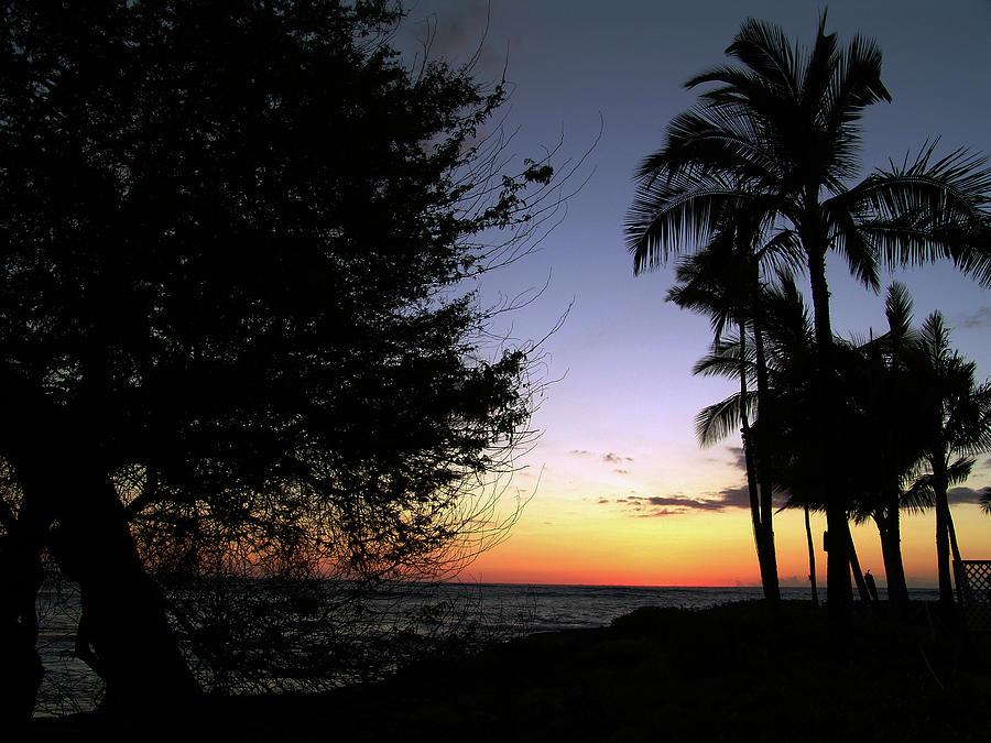 Hawaii Sunset Photograph