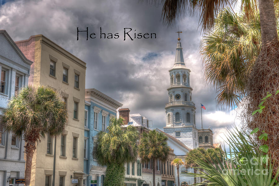 He Is Risen, Just As He Promised Photograph