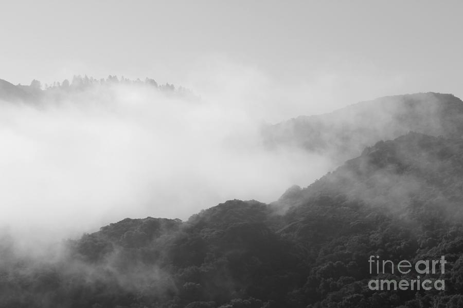 Hills And Fog Photograph