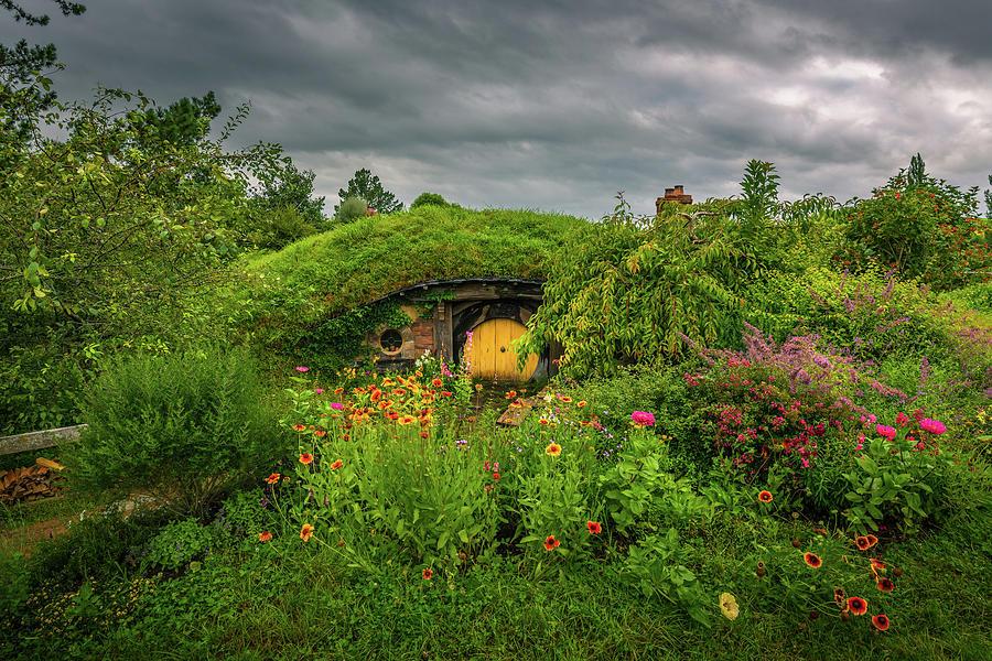Hobbit Garden In Bloom Photograph