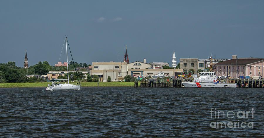 Holy City Steeples - Charleston Photograph