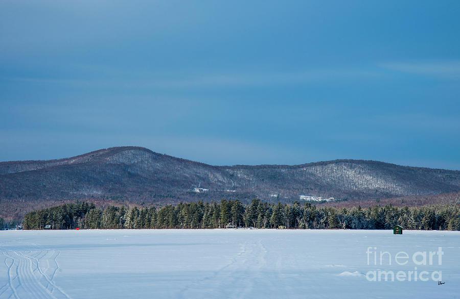 Ice Fishing Photograph