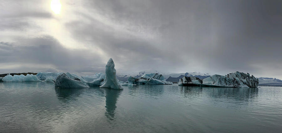 Ice Lagoon Photograph