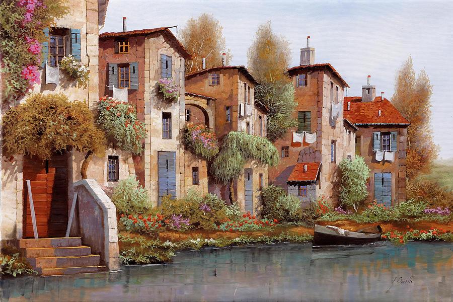 Il Salice Nel Borgo Painting