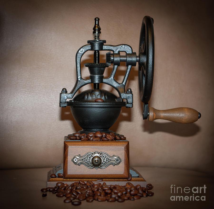 Iron Coffee Photograph