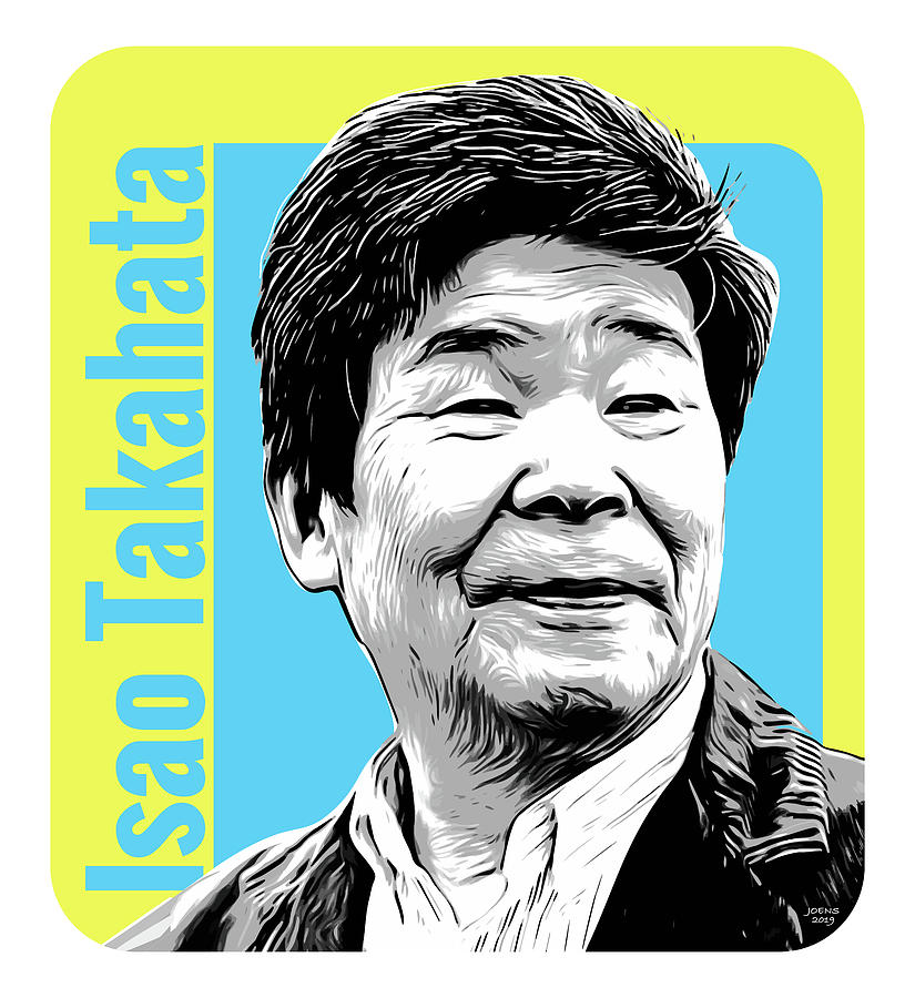 Isao Takahata Tribute Digital Art