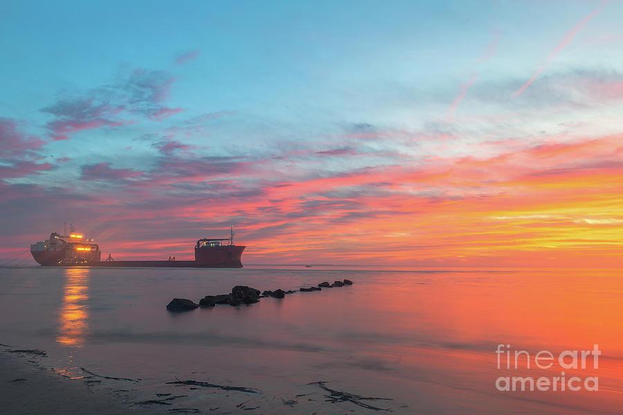 Island Life - Southern Beach Sunset Photograph