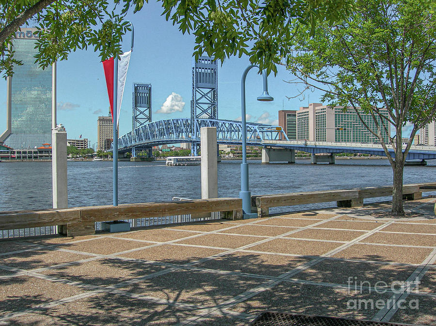 Jacksonville Florida River Stroll Photograph