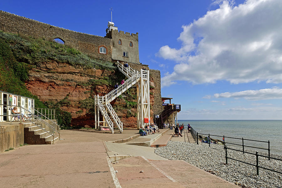 Jacobs Ladder - Sidmouth Photograph