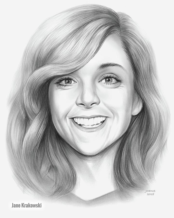 Jane Krakowski Drawing