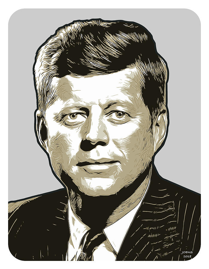 JFK Digital Art