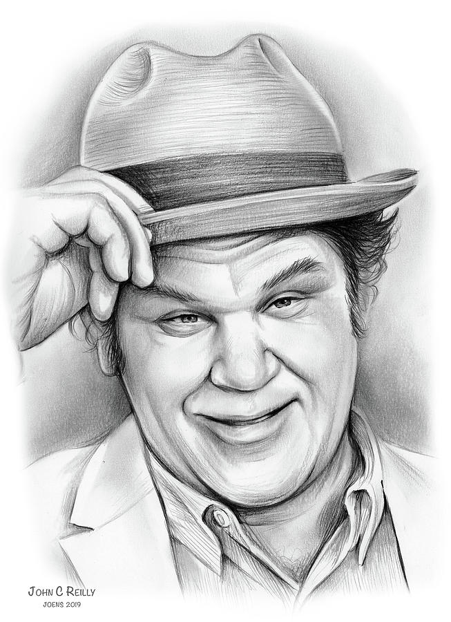John C Reilly Drawing