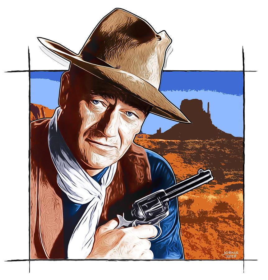 John Wayne 17oct18 Digital Art