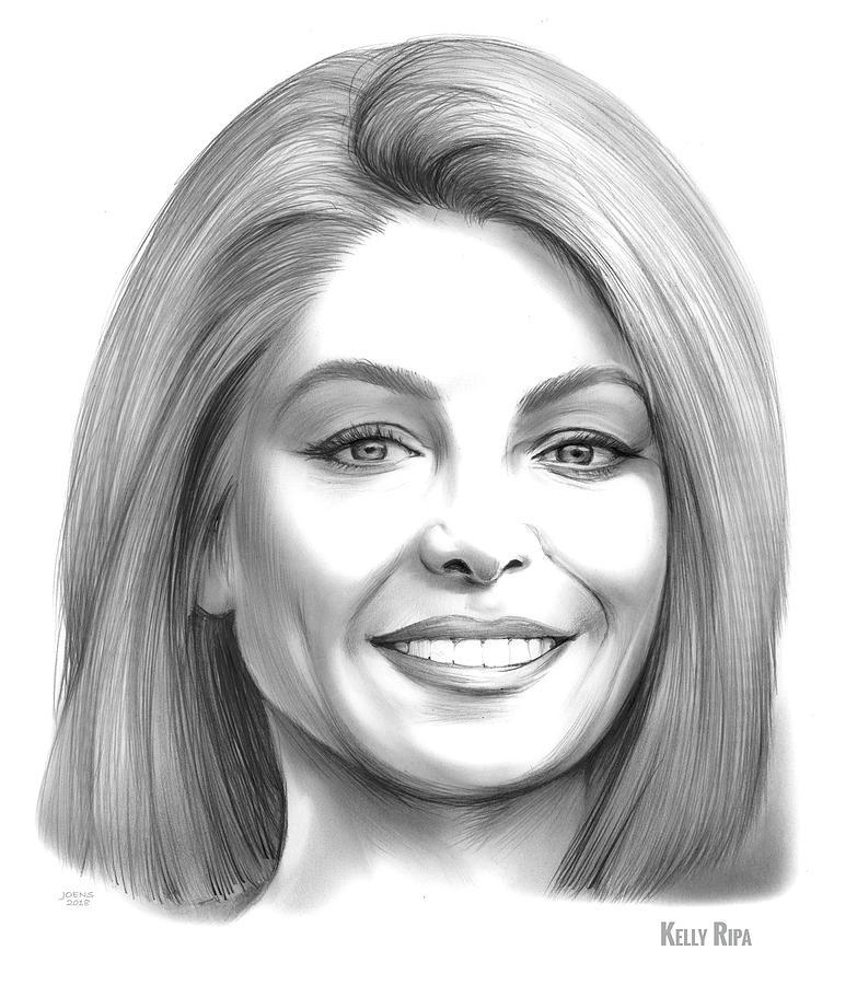 Kelly Ripa Drawing