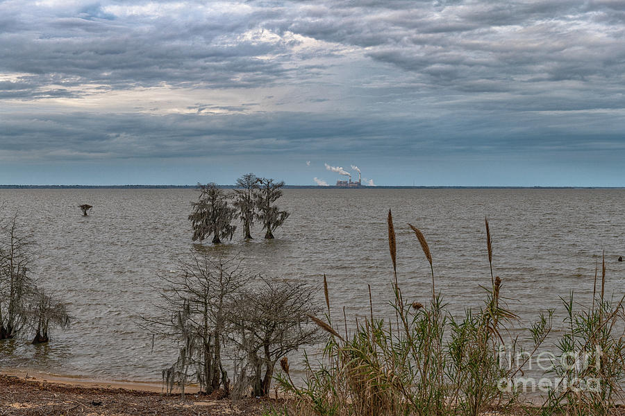 Lake Moultrie - Winter Skies Photograph