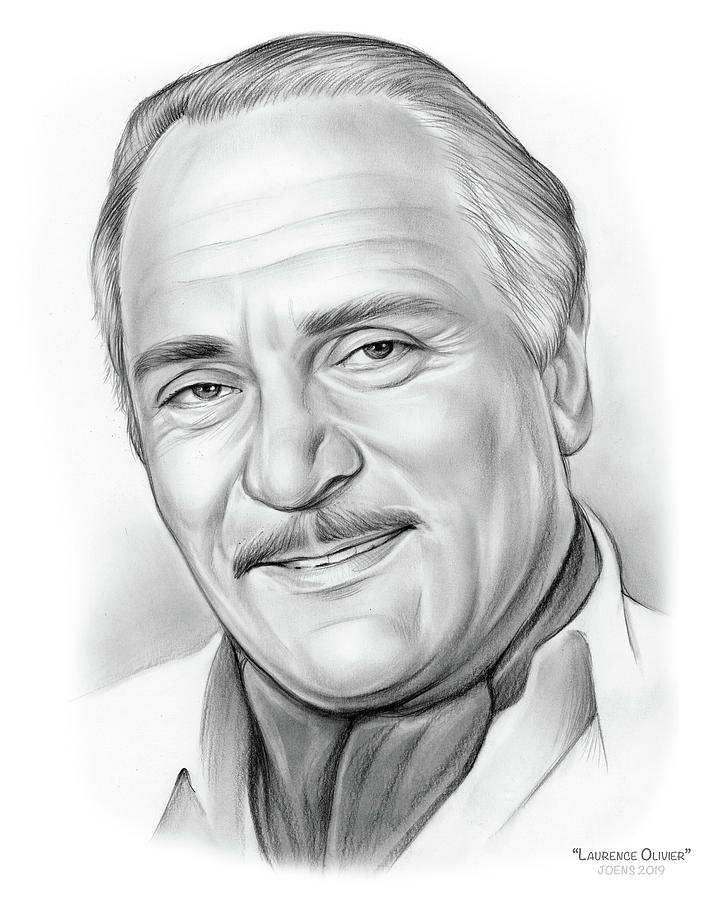 Laurence Olivier Drawing