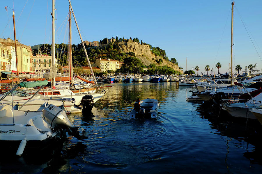 Leaving Cassis Photograph