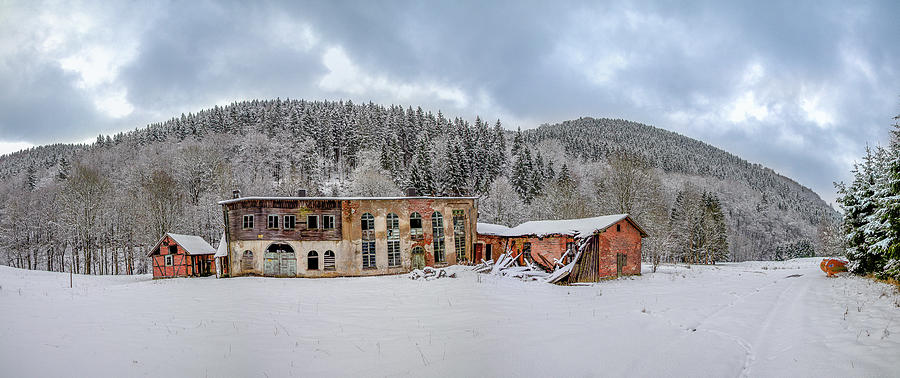 Lost Places - Old Factory Sieber Harz Mountain Photograph