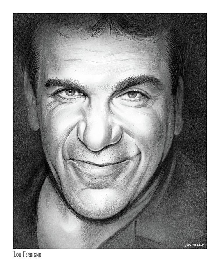 Lou Ferrigno Drawing