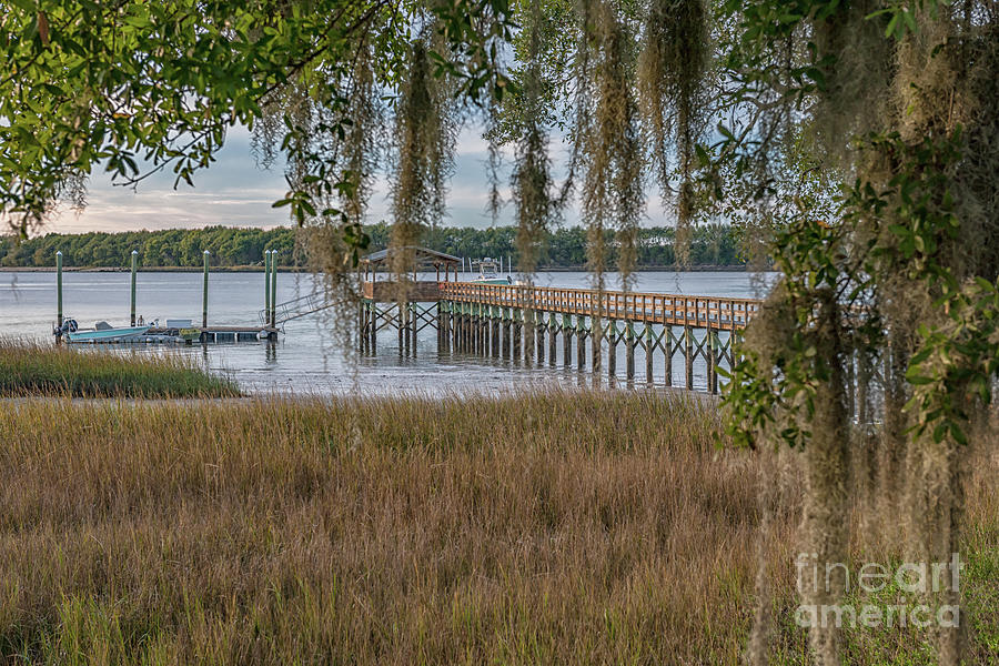 Lowcountry Paradise - Salt Life Photograph