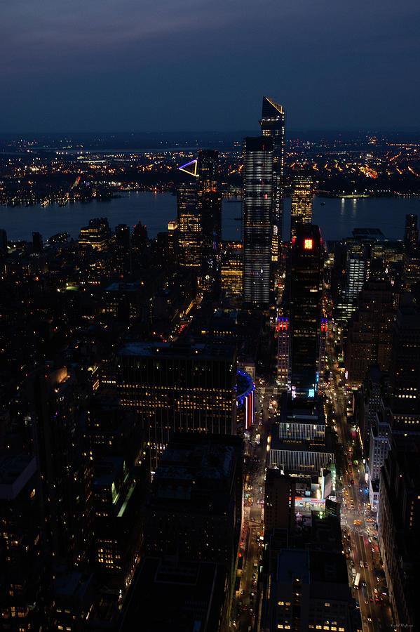 Madison Square Garden At Night Photograph